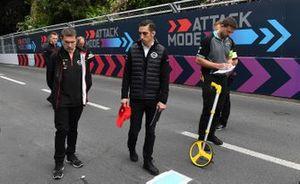 Sébastien Buemi, Nissan e.Dams, cammina sulla pista