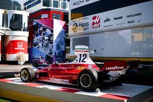 Car of Niki Lauda, Ferrari 312T on display in the paddock