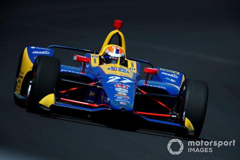 9. Alexander Rossi, Andretti Autosport Honda