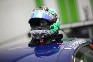 Il casco di Diego Bertonelli, Dinamic Motorsport