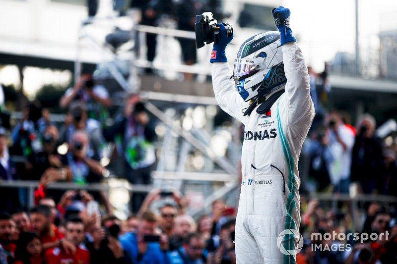 GP de Azerbaiyán, Valtteri Bottas, Mercedes