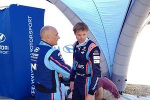 Gabriele Tarquini, Andreas Mikkelsen, Hyundai Motorsport