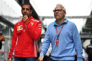 Marc Gene, Ferrari e Jacques Villeneuve, Sky Italia