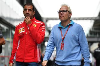 Marc Gene, Ferrari et Jacques Villeneuve, Canal+