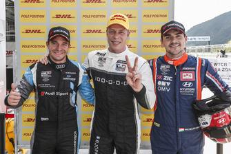 Обладатель поула Тед Бьорк, YMR, второе место – Фредерик Фервиш, Audi Sport Team, третье место – Норберт Михелис, BRC Racing Team