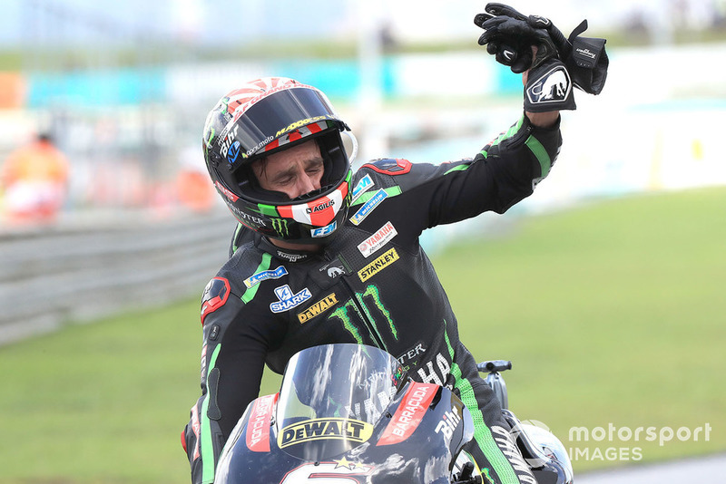 Tercer clasificado Johann Zarco, Monster Yamaha Tech 3