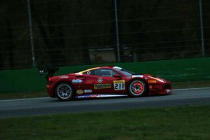 Ferrari 488 #211 Wide World Ferrari: Peter Ludwig