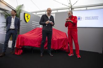 Maurizio Arrivabene, Ferrari Team Principal at the new Ferrari livery unveil