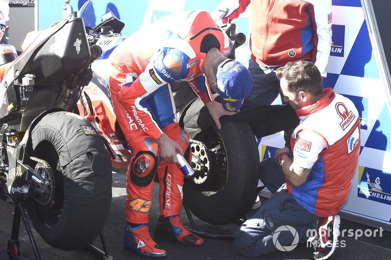 Jack Miller, Pramac Racing, Tyre