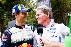 2018 WRC champion Sébastien Ogier, M-Sport Ford, Malcolm Wilson
