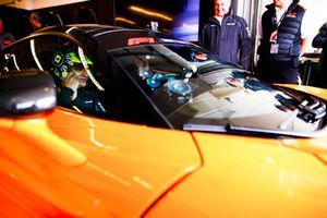 Lando Norris, McLaren, in the Hot Laps McLaren.
