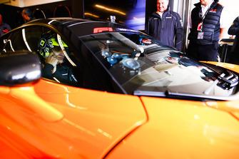 Lando Norris, McLaren, en el Hot Laps McLaren.