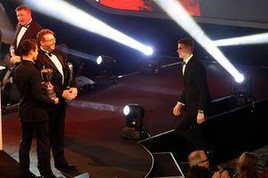 Обладатель премии McLaren Autosport BRDC Award Том Гэмбл и Ландон Норрис