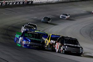 Harrison Burton, Kyle Busch Motorsports, Toyota Tundra DEX Imaging and Jesse Little, JJL Motorsports, Ford F-150 Skuttle-Tight