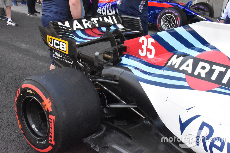 Williams también está utilizando su gran y doble T-Wing