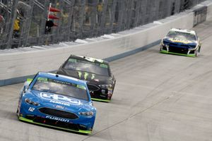 Ryan Blaney, Team Penske, Ford Fusion PPG, Kurt Busch, Stewart-Haas Racing, Ford Fusion Monster Energy / Haas Automation