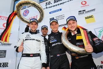 Podium: Dominik Baumann, Edoardo Mortara, Renger Van Der Zande Patrick Assenheimer