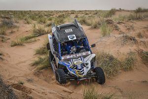 #204 Team Dragon Yamaha: Yann Gallet, Bruno da Costa