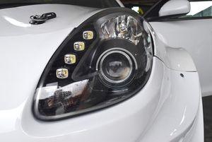 Alfa Romeo Giulietta TCR, dettaglio del fanale anteriore
