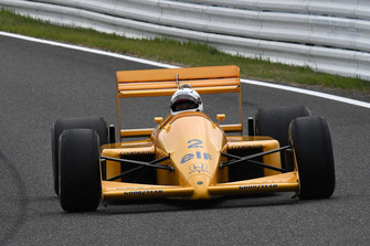 Lotus Honda 100T at Legends F1 30th Anniversary Lap Demonstration