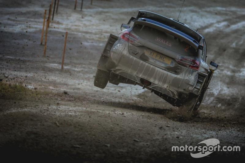 Elfyn Evans, Daniel Barritt, M-Sport Ford WRT Ford Fiesta WRC Nikos Katikis