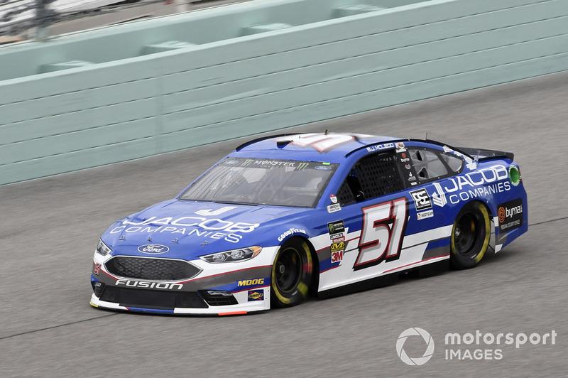 36. B.J. McLeod, Rick Ware Racing, Chevrolet Camaro Jacob Companies
