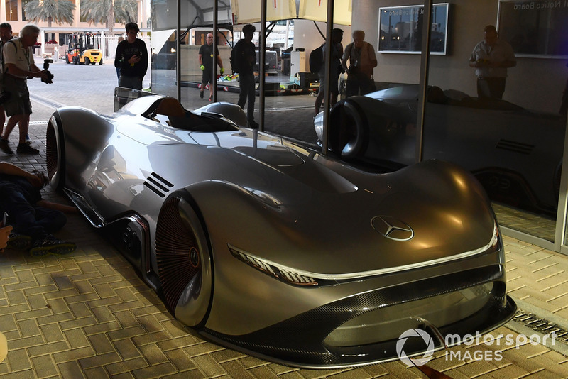 Le concept Mercedes-Benz, EQ Silver Arrow