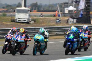 Dennis Foggia, Sky Racing Team VR46, Fabio Di Giannantonio, Del Conca Gresini Racing Moto3, Lorenzo Dalla Porta, Leopard Racing