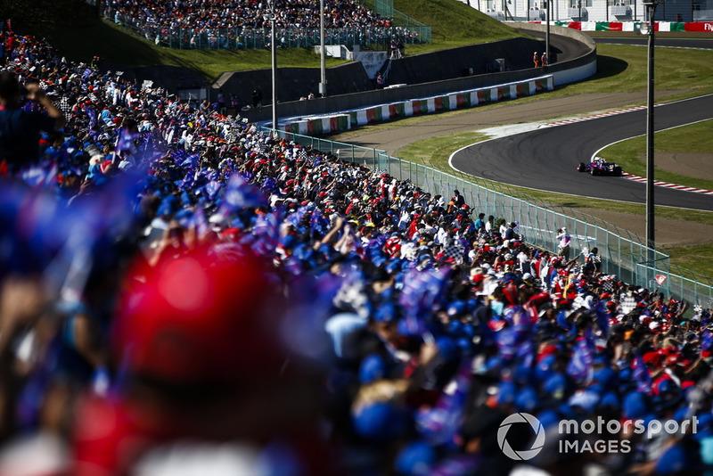 Penonton di Suzuka Circuit