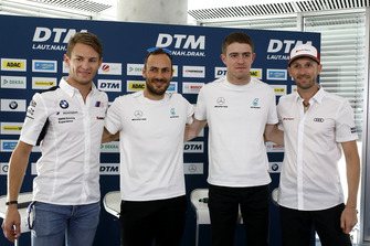 Press Conference, Marco Wittmann, BMW Team RMG, Gary Paffett, Mercedes-AMG Team HWA, Paul Di Resta, Mercedes-AMG Team HWA, René Rast, Audi Sport Team Rosberg