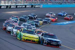 Matt Tifft, Richard Childress Racing, Chevrolet Camaro Go Green, Christopher Bell, Joe Gibbs Racing, Toyota Camry GameStop Just Cause 4