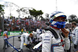Sergey Sirotkin, Williams Racing, on the grid