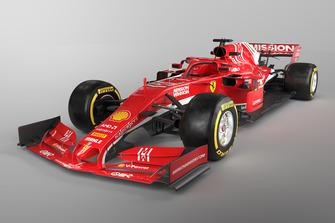 3D mock-up concept of a 2019 Ferrari