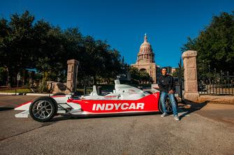Rookie Driver Coloton Herta, IndyCar en el Capitolio