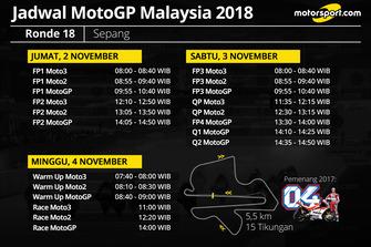 Jadwal MotoGP Malaysia 2018