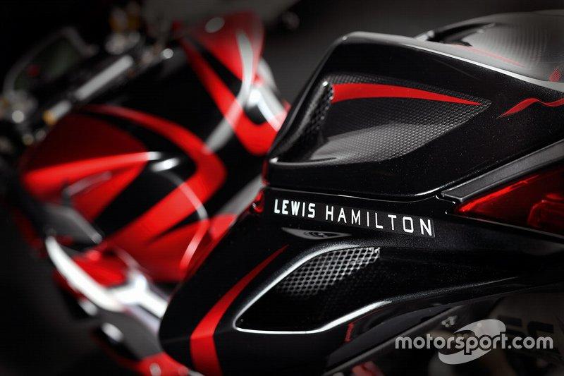 MV Agusta F4 LH44 von Lewis Hamilton