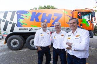 Xavi Domènech, José Luis Criado, Jordi Juvanteny, KH-7 Epsilon Team