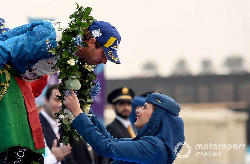 Antonio Felix da Costa, BMW I Andretti Motorsports, BMW iFE.18, gana la carrera