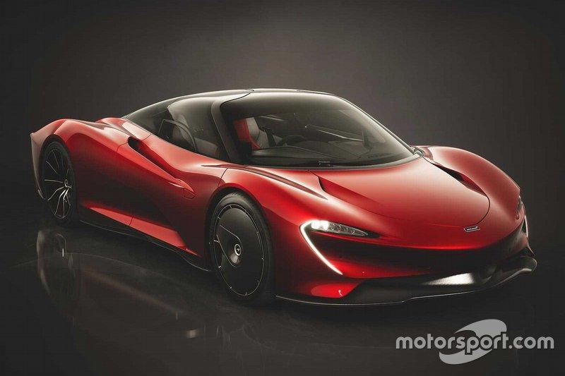 McLaren Speedtail концепт Bloodline