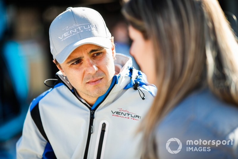 Felipe Massa, Venturi Formula E, con los medios