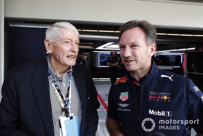 Джон Мелоун, Liberty Media, керівник Red Bull Racing Крістан Хорнер