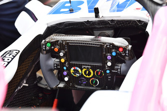 Racing Point Force India VJM11 steering wheel