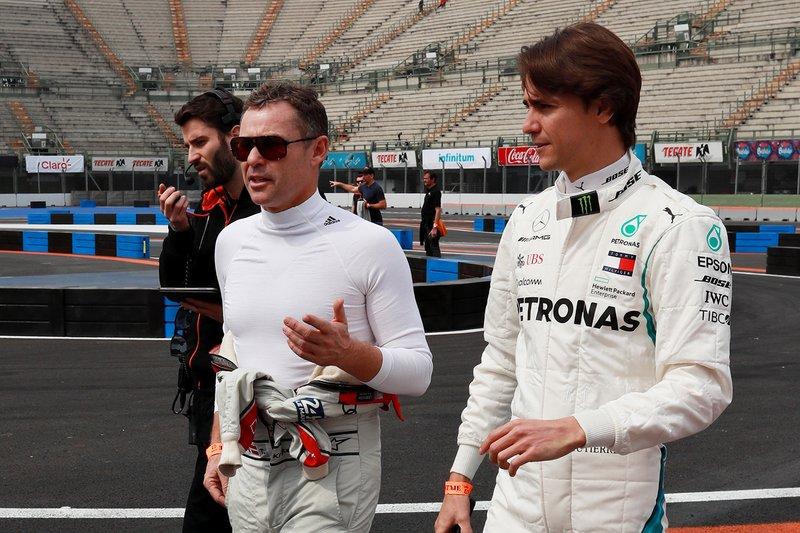 Tom Kristensen et Esteban Gutierrez font le tour du circuit à pied