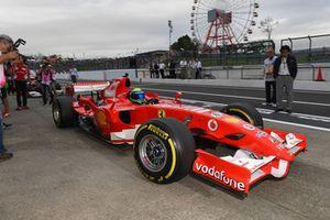 Felipe Massa, Ferrari lors du tour de démonstration des Légendes