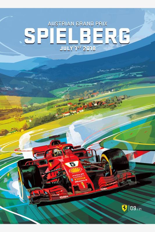 Постер Гран При Австрии