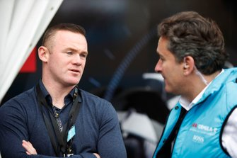 Footballer Wayne Rooney, Alejandro Agag, CEO, Formula E