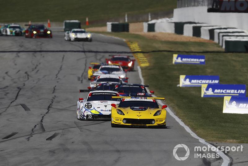 #3 Corvette Racing Chevrolet Corvette C7.R, GTLM: Antonio Garcia, Jan Magnussen, Marcel Fassler, 912/