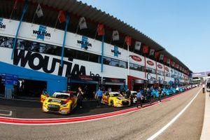 Nathanael Berthon, Comtoyou DHL Team Audi Sport Audi RS3 LMS, Tom Coronel, Comtoyou DHL Team Audi Sport Audi RS3 LMS