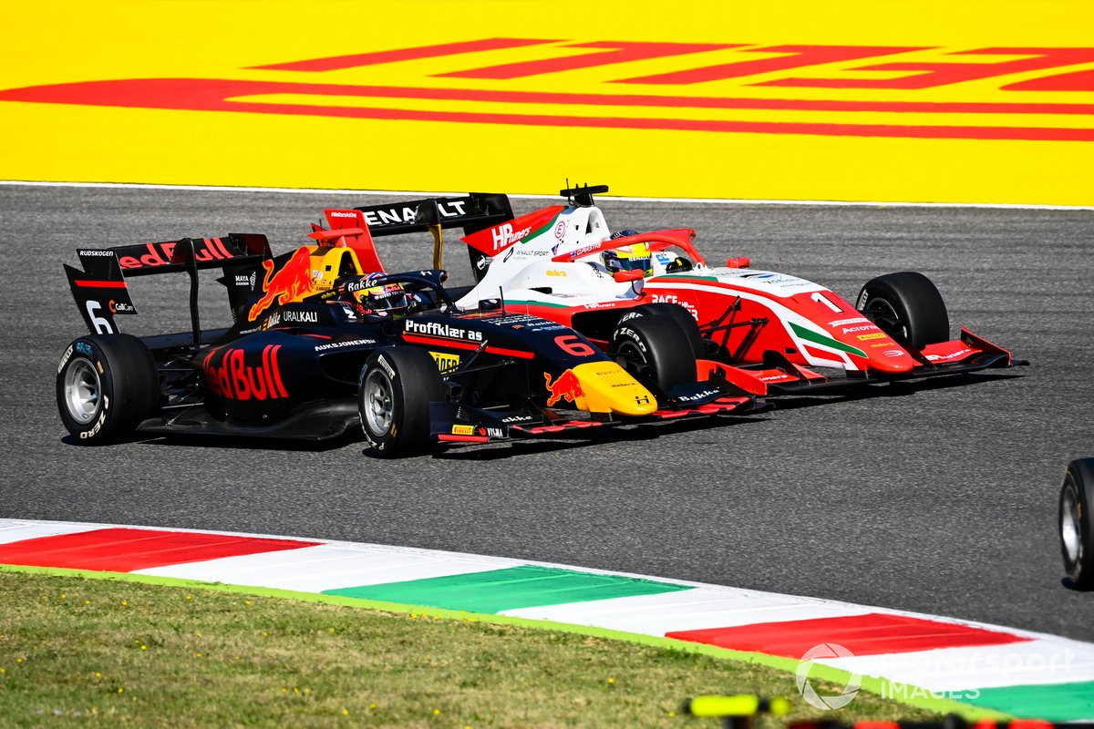 Dennis Hauger, Hitech Grand Prix, Oscar Piastri, Prema Racing