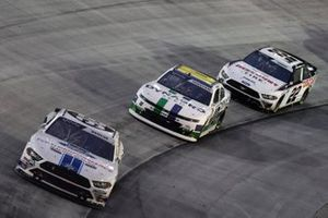 Chase Briscoe, Stewart-Haas Racing, Ford Mustang Ford Performance Racing School, Ross Chastain, Kaulig Racing, Chevrolet Camaro Dyna-Gro Seed, Austin Cindric, Team Penske, Ford Mustang Discount Tire
